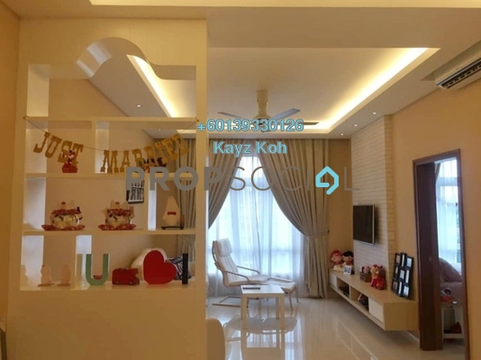 Condominium For Sale in Royal Regent, Dutamas Freehold Fully Furnished 3R/2B 700k