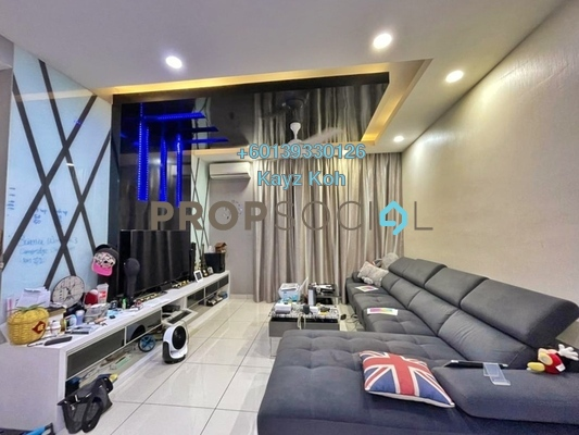 Condominium For Sale in Royal Regent, Dutamas Freehold Fully Furnished 2R/2B 620k