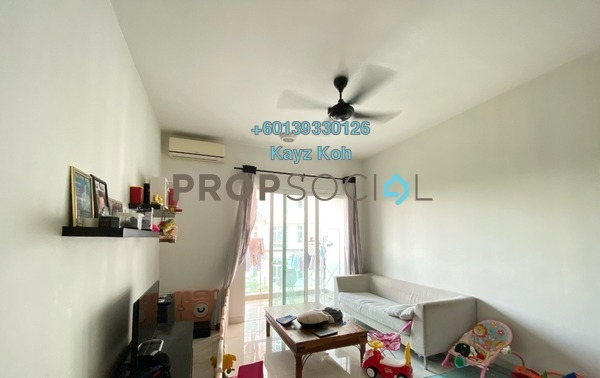 Condominium For Sale in Royal Regent, Dutamas Freehold Semi Furnished 2R/2B 600k