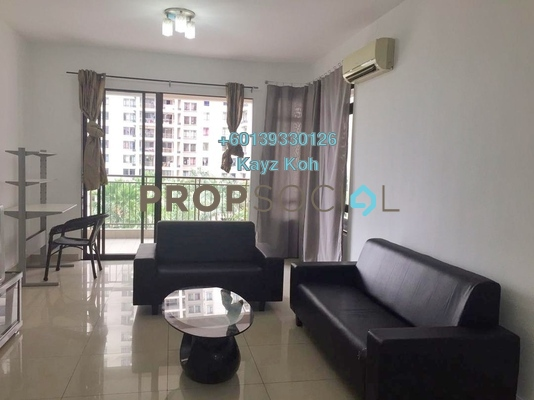 Condominium For Sale in Sri Putramas II, Dutamas Freehold Semi Furnished 3R/2B 470k