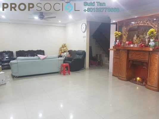 Terrace For Sale in Kepong Baru, Kepong Freehold Semi Furnished 6R/4B 1.55m