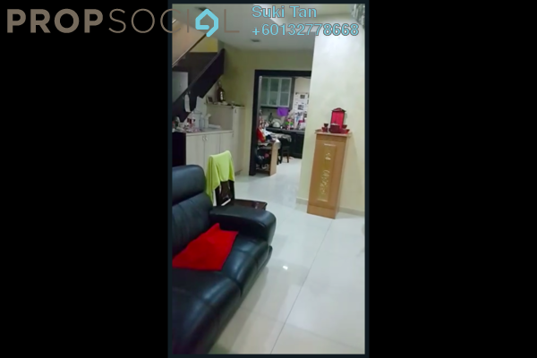 Condominium For Sale in Taman Kepong, Kepong Freehold Semi Furnished 4R/3B 998k