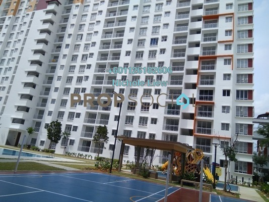 Condominium For Rent in Setia EcoHill, Semenyih Freehold Semi Furnished 3R/2B 850translationmissing:en.pricing.unit