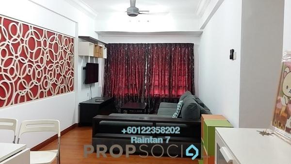 Condominium For Sale in Bayu Tasik 1, Bandar Sri Permaisuri Freehold Semi Furnished 3R/2B 348k