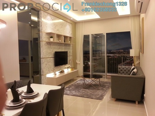 Condominium For Sale in PV18 Residence, Setapak Freehold Unfurnished 3R/2B 430k