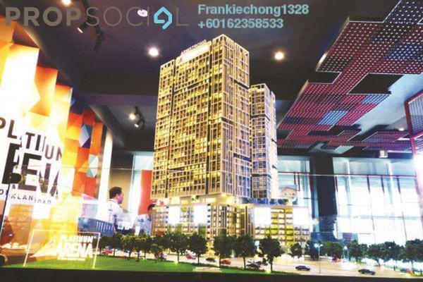 Condominium For Sale in Platinum Arena, Old Klang Road Freehold Semi Furnished 3R/2B 480k