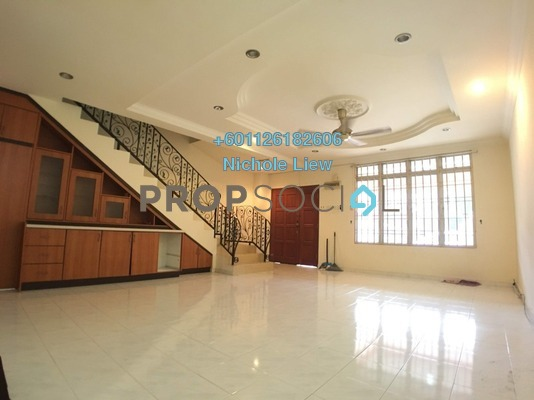 Link For Sale in Section 2, Bandar Mahkota Cheras Freehold Semi Furnished 4R/3B 580k