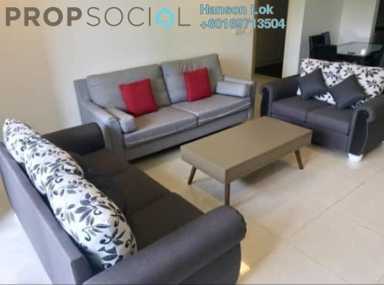 Condominium For Rent in The Westside Two, Desa ParkCity Freehold Fully Furnished 3R/2B 3.6k