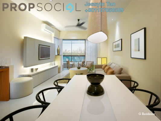 Condominium For Rent in G Residence, Desa Pandan Freehold Fully Furnished 2R/2B 2.6k