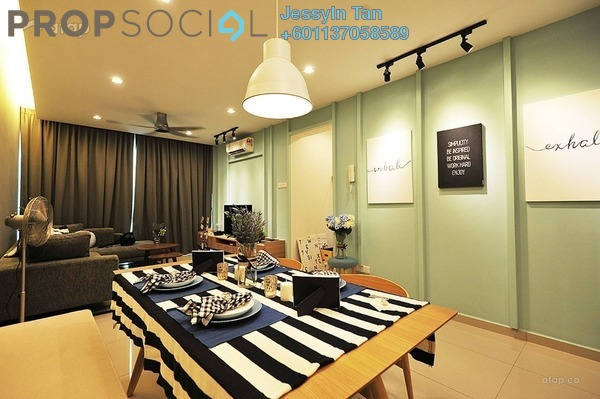Condominium For Sale in The Zest, Bandar Kinrara Freehold Fully Furnished 3R/2B 580k