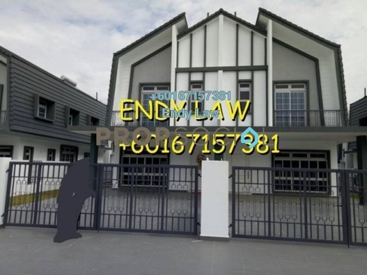 Semi-Detached For Sale in Eco Spring, Tebrau Freehold Unfurnished 4R/4B 1.15m