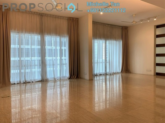 Condominium For Sale in Dua Residency, KLCC Freehold Semi Furnished 4R/3B 1.9m