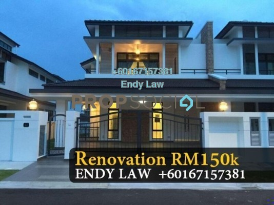 Semi-Detached For Rent in Eco Botanic, Skudai Freehold Semi Furnished 4R/3B 4.5k