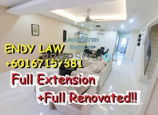 Terrace For Sale in Goodyear Court 1, UEP Subang Jaya Freehold Semi Furnished 4R/3B 596k