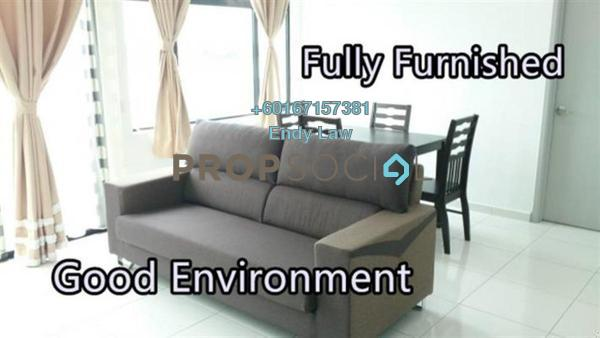 Condominium For Rent in Sky Suites @ Meldrum Hills, Johor Bahru Freehold Fully Furnished 1R/1B 1.6k