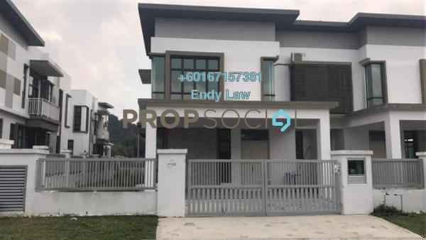 Semi-Detached For Sale in Taman Sutera Utama, Skudai Freehold Semi Furnished 5R/4B 720k