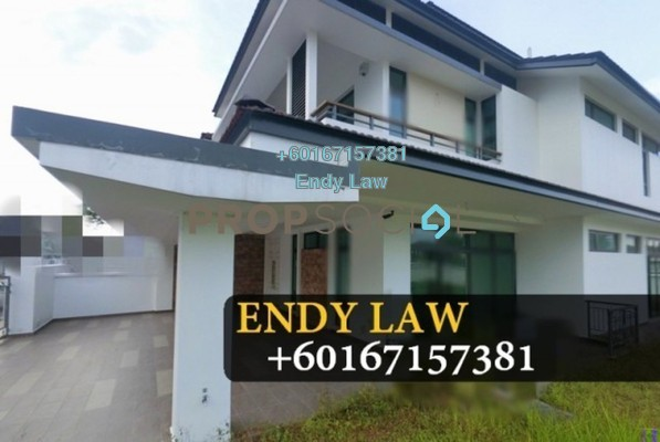 Semi-Detached For Sale in Eco Botanic, Skudai Freehold Fully Furnished 5R/5B 1.85m