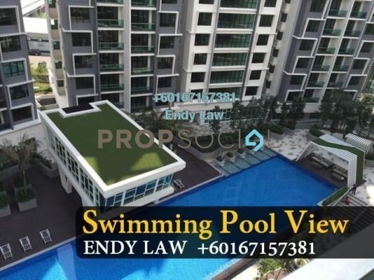 Condominium For Sale in Impiana Residences, Iskandar Puteri (Nusajaya) Freehold Unfurnished 4R/3B 650k