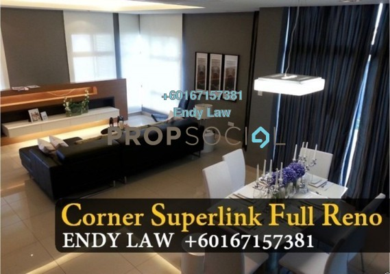 Semi-Detached For Sale in Horizon Residence 2, Bukit Indah Freehold Unfurnished 5R/4B 1.27m