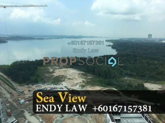 Condominium For Sale in Teega, Puteri Harbour Freehold Unfurnished 4R/3B 1.35m