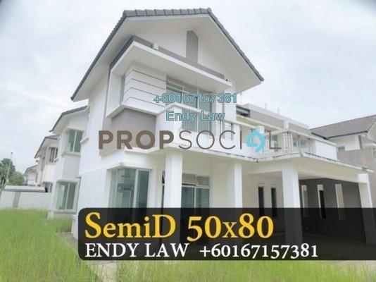 Semi-Detached For Sale in Nusa Duta, Iskandar Puteri (Nusajaya) Freehold Unfurnished 6R/6B 1.39m