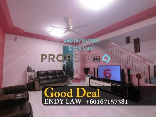 Terrace For Sale in Apartment Seri Mengkuang, Gelang Patah Freehold Semi Furnished 3R/3B 459k