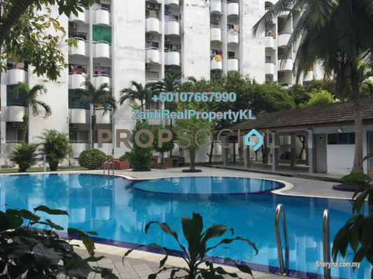 Condominium For Sale in Fawina Court, Ampang Freehold Semi Furnished 2R/2B 270k