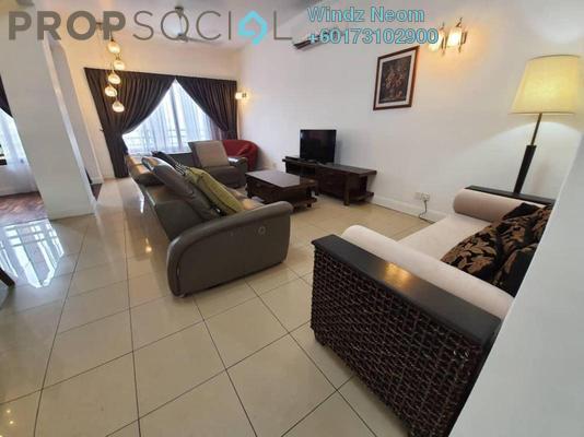 Condominium For Rent in Surian Residences, Mutiara Damansara Freehold Fully Furnished 4R/3B 5k