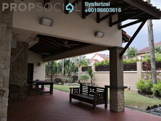 Bungalow For Sale in Bidai Residence, Bukit Jelutong Leasehold Semi Furnished 5R/6B 2.9m