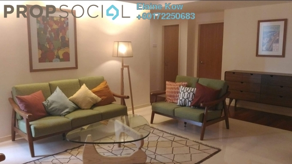 Condominium For Rent in i-Zen Kiara II, Mont Kiara Freehold Fully Furnished 4R/3B 5.8k