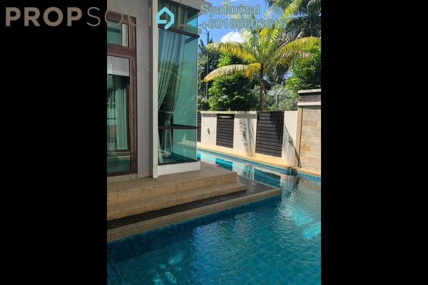 Bungalow For Sale in D'Puncak, Bukit Jelutong Freehold Fully Furnished 6R/7B 7m