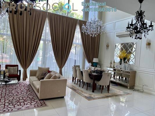 Superlink For Sale in Lagenda Waterfront Homes, Bukit Jelutong Freehold Fully Furnished 6R/6B 2.3m