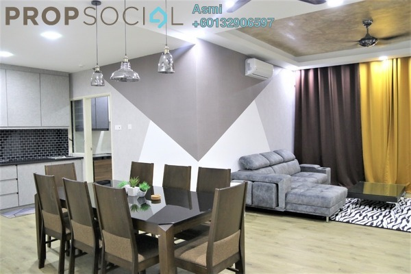 Townhouse For Sale in Primer Garden Town Villas, Cahaya SPK Freehold Fully Furnished 4R/4B 820k
