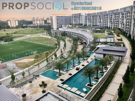 Condominium For Sale in Radia Residences, Bukit Jelutong Freehold Semi Furnished 2R/2B 550k