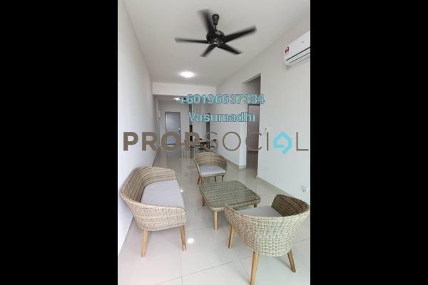 Condominium For Rent in Maple Residences, Bandar Bestari Freehold Semi Furnished 3R/2B 1.3k