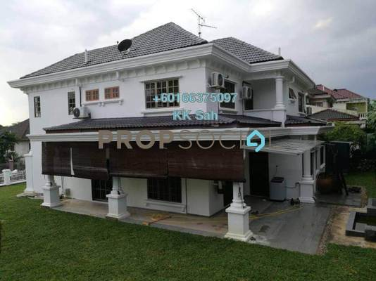 Bungalow For Rent in Taman Bukit Saga, Shah Alam Freehold Fully Furnished 7R/5B 4.5k