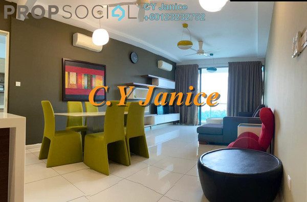 Condominium For Rent in LaCosta, Bandar Sunway Freehold Fully Furnished 2R/2B 3.8k