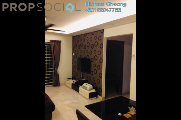 Apartment For Sale in Kenanga Apartment, Pusat Bandar Puchong Freehold Fully Furnished 3R/2B 395k