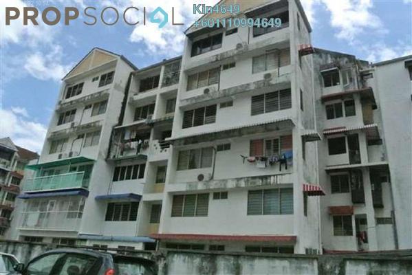 Condominium For Sale in Taman Lip Sin, Sungai Nibong Freehold Semi Furnished 3R/1B 350k