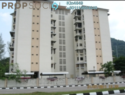 Apartment For Sale in Golf View Apartment, Bukit Jambul Leasehold Semi Furnished 3R/2B 550k
