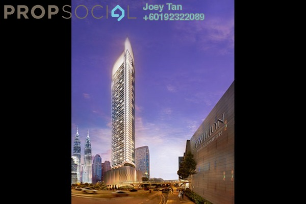 Condominium For Sale in Banyan Tree, KLCC Freehold Semi Furnished 3R/3B 5.19m