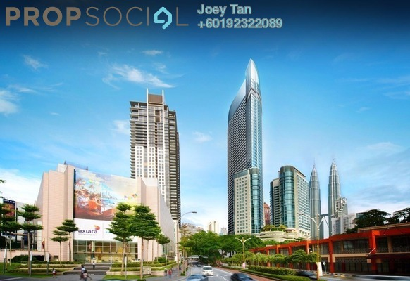 Condominium For Sale in Banyan Tree, KLCC Freehold Semi Furnished 3R/3B 5.15m
