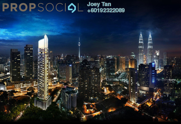 Condominium For Sale in Banyan Tree, KLCC Freehold Semi Furnished 3R/3B 4.3m