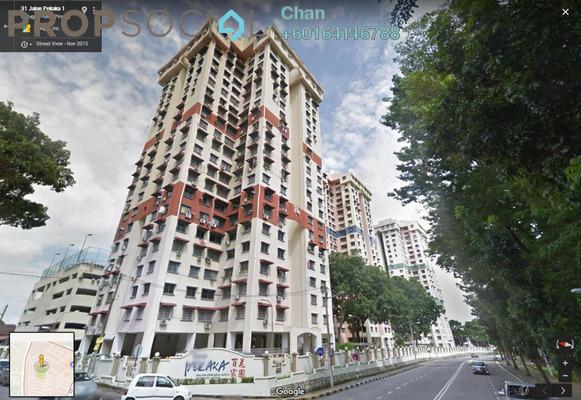 Apartment For Sale in Taman Pekaka, Sungai Dua Freehold Semi Furnished 3R/2B 380k