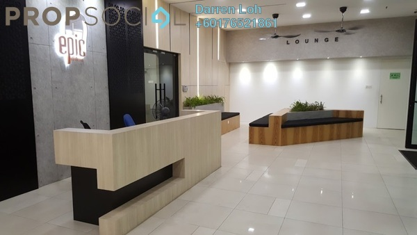 Condominium For Rent in Epic Residence, Bandar Bukit Puchong Freehold Semi Furnished 3R/2B 1.6k