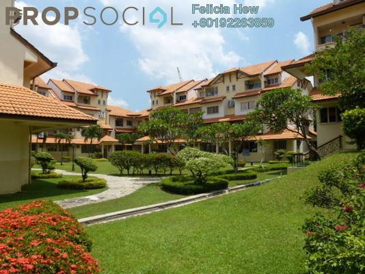 Condominium For Sale in Villa Flora, TTDI Freehold Semi Furnished 3R/2B 900k
