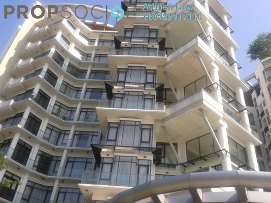 Condominium For Sale in Gallery U-Thant, Ampang Hilir Freehold Semi Furnished 4R/3B 4.8m
