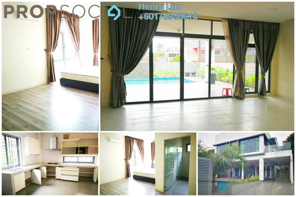 Bungalow For Rent in Taman Sri Ukay, Ukay Freehold Semi Furnished 6R/7B 11k