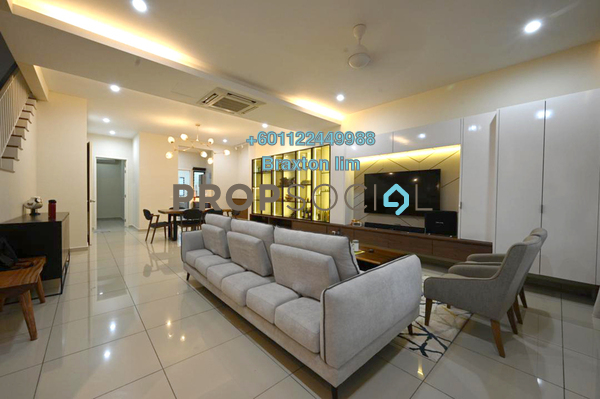 Terrace For Sale in Eco Majestic, Semenyih Freehold Fully Furnished 4R/4B 776k