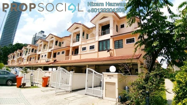 Townhouse For Sale in Parkville Garden Townhouse, Sunway Damansara Freehold Semi Furnished 3R/3B 1.18m